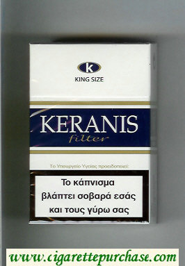 Keranis Filter King Size cigarettes hard box