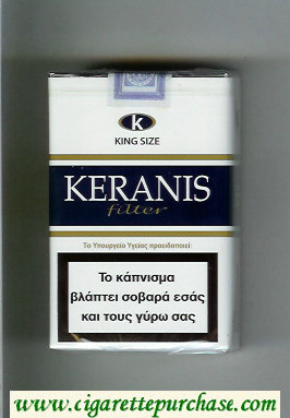 Keranis Filter King Size cigarettes soft box