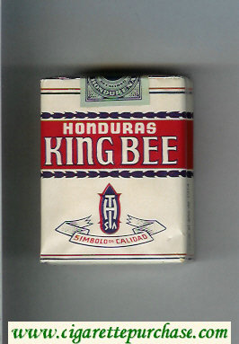 King Bee Honduras cigarettes soft box