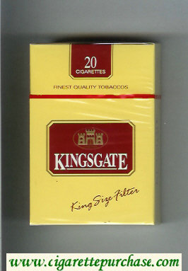 Kingsgate cigarettes hard box