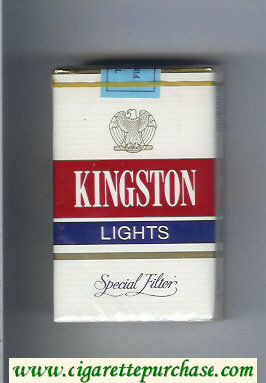 Kingston Lights Special Filter cigarettes soft box