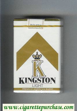 Kingston K Light cigarettes soft box