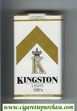 Kingston K Light 100s cigarettes soft box