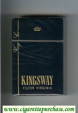 Kingsway cigarettes hard box