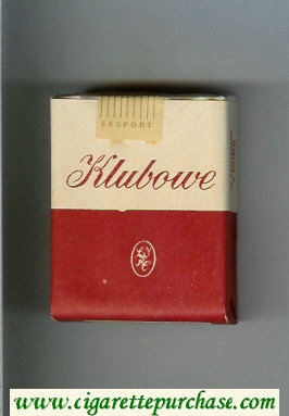 Klubowe white and red cigarettes soft box