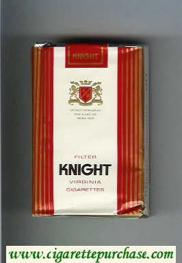 Knight Virginia cigarettes soft box