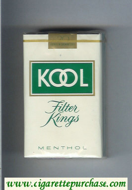 Discount Kool Filter Kings Menthol cigarettes soft box