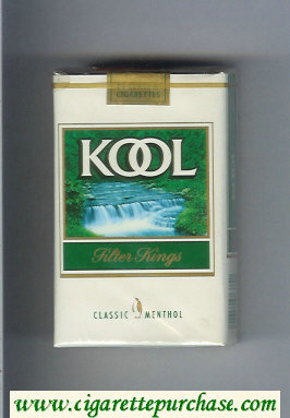 Discount Kool Classic Menthol Filter Kings cigarettes soft box