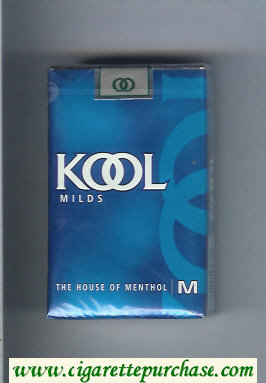 Discount Kool Milds The House of Menthol cigarettes soft box