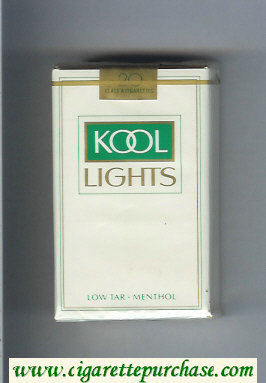 Discount Kool Lights Menthol cigarettes soft box