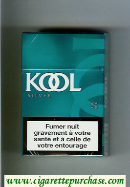 Discount Kool Silver cigarettes hard box