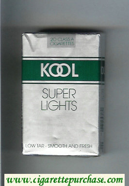 Discount Kool Super Lights cigarettes soft box