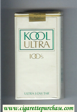 Discount Kool Ultra 100s cigarettes soft box
