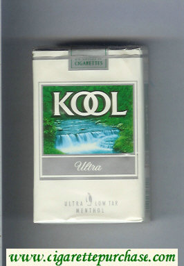 Discount Kool Ultra Menthol cigarettes soft box