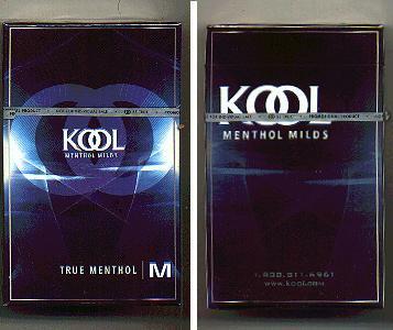 Discount Kool cigarettes Menthol Milds True Menthol hard box