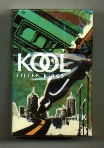 Kool Filter Kings hard box cigarettes