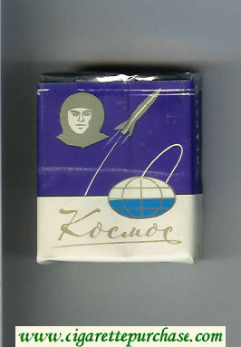 Kosmos T Short Blue cigarettes soft box