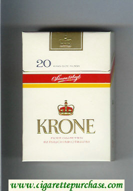 Krone cigarettes hard box