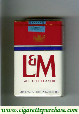 Discount L&M All Out Flavor cigarettes soft box