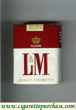 L&M Filters Quality Cigarettes cigarettes soft box