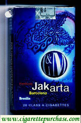 Discount L&M Jakarta Blue Label cigarettes soft box