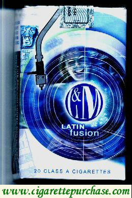 Discount L&M LATIN fusion Blue Label cigarettes soft box