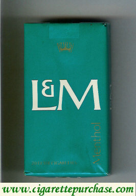 Discount L&M Menthol 100s cigarettes soft box