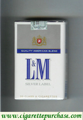 Discount L&M Quality American Blend Silver Label cigarettes soft box