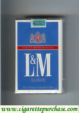 Discount L&M Quality American Blend Suave cigarettes soft box