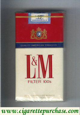 Discount L&M Quality American Tobaccos Filter 100s cigarettes soft box