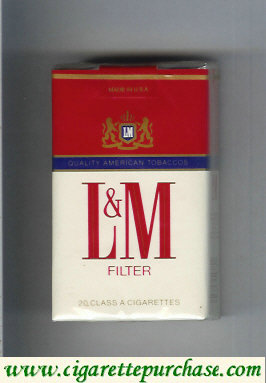 Discount L&M Quality American Tobaccos Filter cigarettes soft box