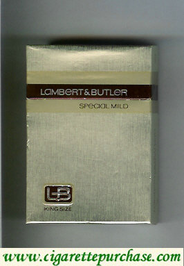 Discount L&B Lambert and Butler Special Mild cigarettes hard box