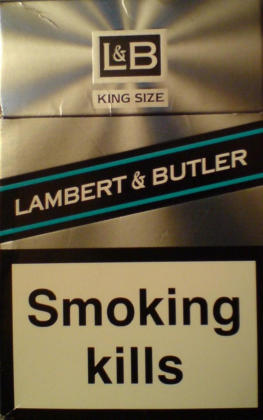 Discount L&B Lambert and Butler cigarettes King Size hard box
