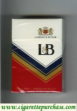 Discount L&B Lambert and Butler cigarettes hard box