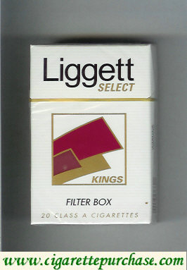 Discount Liggett Select Kings Filter Box cigarettes hard box