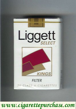 Discount Liggett Select Kings Filter cigarettes soft box