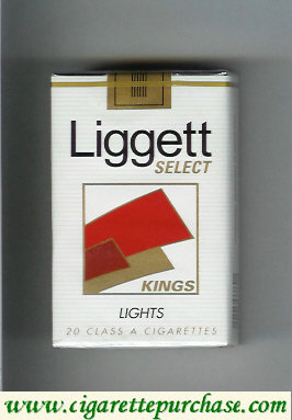 Discount Liggett Select Kings Lights cigarettes soft box