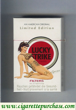 Discount Lucky Strike Filter Jo-Ann cigarettes hard box