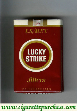 Discount Lucky Strike Filter L.S. M.F.T. cigarettes soft box