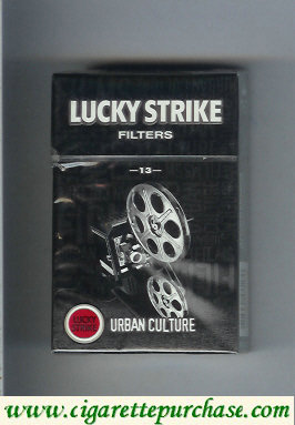 Discount Lucky Strike Filters 13 Urban Culture cigarettes hard box