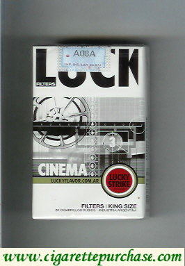 Discount Lucky Strike Filters Cinema cigarettes soft box