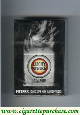 Discount Lucky Strike Filters FlavorChickHere cigarettes hard box