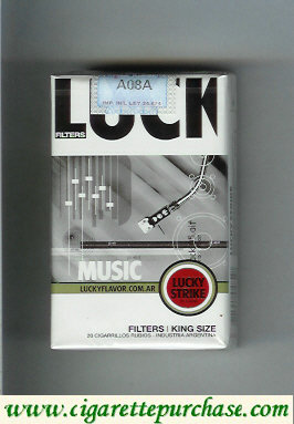 Discount Lucky Strike Filters Music cigarettes soft box