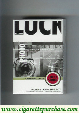 Discount Lucky Strike Filters Photo cigarettes hard box