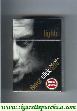 Discount Lucky Strike FlavorChickHere Limited Edition Lights cigarettes hard box