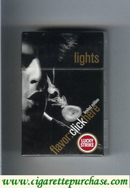 Discount Lucky Strike FlavorChickHere Limited Edition Lights hard box cigarettes
