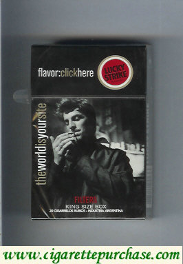 Discount Lucky Strike FlavorChickHereTheWorldIs cigarettes hard box