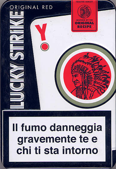 Discount Lucky Strike LUCKY Original Red with Y cigarettes Tin Pack