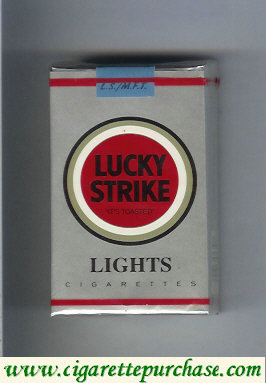 Discount Lucky Strike Lights cigarettes soft box