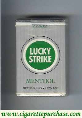 Discount Lucky Strike Menthol LSMFT Low Tar cigarettes soft box